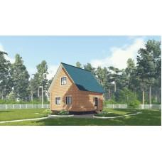 Дом из бруса 6х6 (36+30 м²)