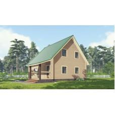 Дом из бруса 8х9 (135 м²)